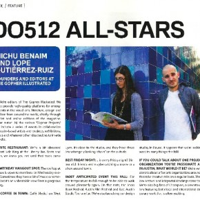 A Nod on NSIDE Magazine - Do512 All Stars